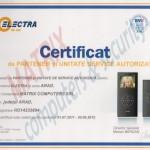 electra certificat